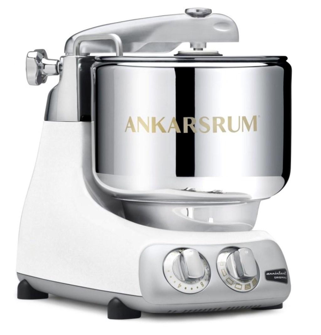 Røremaskine i hvid Ankarsrum fra Kunst og Køkkentøj - Kunst og Køkkentøj Webshop